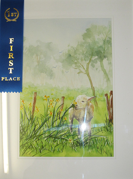 Judith Hoste - Springtime .. This won 1st Prize at the Lakes Artsfest 2013