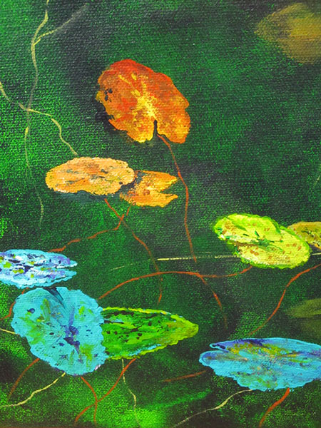 Judith Hoste - Waterlillies